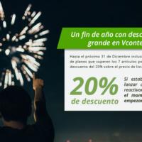 ¡DESCUENTOS ENORMES en Vcontenidos para despedir el 2016 a lo grande!
